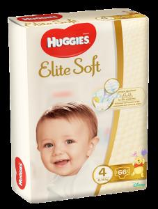Scutece Huggies Elite Soft Mega 66 buc 8-14 kg