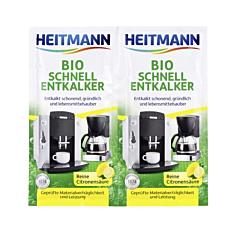 Decalcifiant Bio aparate uz casnic Heitmann 2x25g
