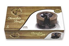 Soufle de ciocolata congelat Flavour Tree 2x150g