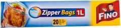 Zipper bags 1 l Fino 20 buc