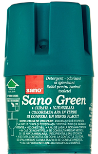 Detergent odorizant si igienizant solid Sano Verde 150g