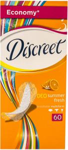 Absorbante zilnice Discreet Deo summer fresh 60 buc