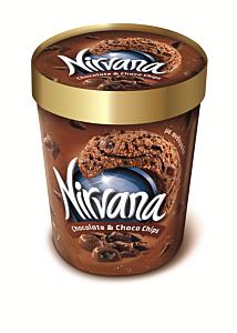 Inghetata cu aroma de ciocolata Nirvana 365g