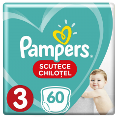 Scutece chilotel Pampers Pants Jumbo Pack, nr.3, 6-11 kg, 60bucati