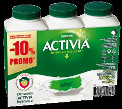 Pachet iaurt de baut natur Activia 3x320g