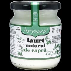 Iaurt natural de capra Artesana 200g