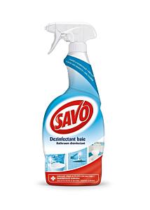 Pulverizator dezinfectant fara clor baie Savo, 650ml