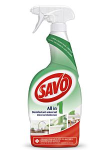 Dezinfectant fara clor universal Savo, 650ml