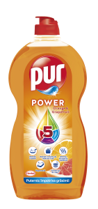 Detergent de vase gel Pur Power Orange&Grapefruit, 1.35l
