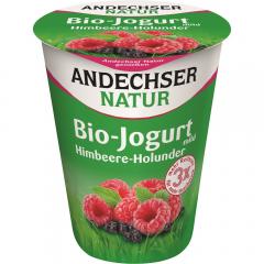 Iaurt Bio zmeura si soc Andechser Natur 400g