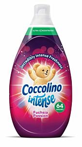 Balsam de rufe Coccolino Intense Fuchsia Passion, 64 spalari, 960ml