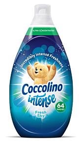 Balsam de rufe Coccolino Intense Fresh Sky, 64 spalari, 960ml