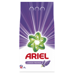 Detergent automat pudra Ariel Lavanda 4 Kg, 40 spalari