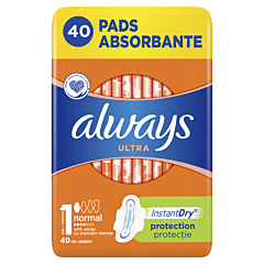 Absorbante Always Ultra Normal, 40 buc