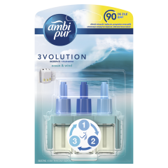 Rezerva odorizant de camera electric Ambi Pur 3Volution Ocean & Wind, 20 ml