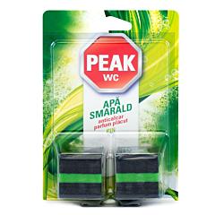 Tablete anticalcar pentru bazin Peak WC Apa Smarald, 2buc.x50g