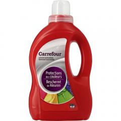 Detergent pentru haine colorate Carrefour, 25spalari, 1.5l