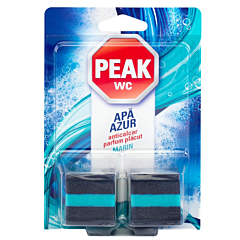 Tablete anticalcar pentru bazin Peak WC Apa Azur, 2buc, 50g