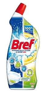 Solutie gel de curatare toaleta Bref Lemonitta Power, 700 ml