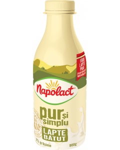 Lapte batut 2%grasime Napolact 900g