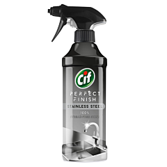 Solutie spray pentru curatare inox Cif 435ml