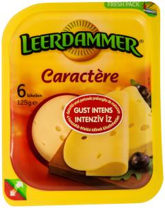 Branza olandeza Caractere Leerdammer 125G