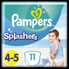 Scutece pentru inot Splashers Pampers, nr. 4-5, 9-15kg, 11bucati