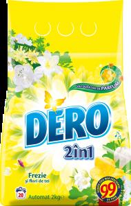 Detergent automat pudra Dero 2in1 Frezie, 20 spalari, 2kg