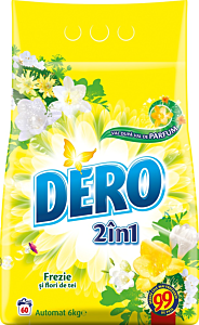 Detergent automat pudra Dero 2in1 Frezie, 60 spalari, 6kg