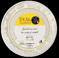 Salata cu icre de crap Drag de Romania 100g