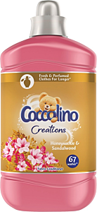 Balsam de rufe Coccolino Creations Honeysuckle, 67 spalari, 1.68l