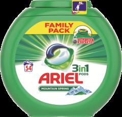 Detergent capsule 3in1 PODS Color, 54 spalari Ariel