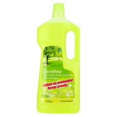 Detergent universal pentru podele cu lamaie Carrefour 1.25l