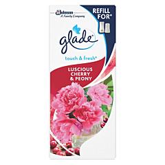 Rezerva odorizant baie Refill Peony&Cherry Glade Touch&Fresh 10ml