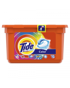 Detergent automat capsule 3in1 PODs Color, Tide, 12 spalari, 12 buc