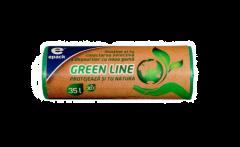 "Saci menajeri ""green line"" Epack, 35l, 30buc"