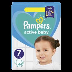 Scutece Pampers Active Baby Marimea 7, 15+ kg, 44 buc