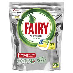 Detergent de vase capsule Fairy Platinum, 37bucati