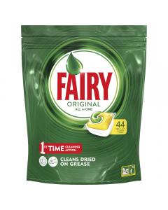 Detergent de vase capsule Fairy All in One, 44buc