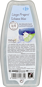 Gel odorizant fresh Carrefour 150g