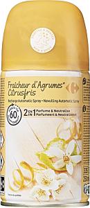 Rezerva odorizant automatic cu parfum de citrice Carrefour, 250 gr