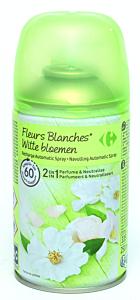 Rezerva odorizant automatic cu parfum de flori albe Carrefour, 250 gr