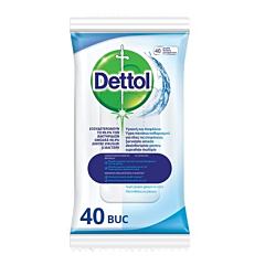Servetele dezinfectante suprafete Dettol 40buc