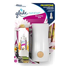 Aparat odorizant Touch&Fresh Relaxing Zen Glade 10ml