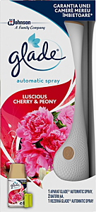 Aparat odorizant Automatic Spray Peony&Cherry Glade 269ml
