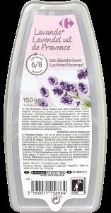 Gel odorizant cu lavanda Carrefour 150g