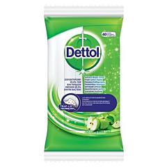Servetele dezinfectante suprafete Dettol Mar, 40 bucati