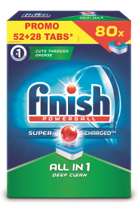 Detergent vase Finish All In One 52+28tablete