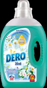 Detergent automat lichid Dero Ozon+ Roua Muntelui 60 spalari, 3l