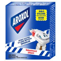 Aparat electric anti tantari cu rezerva lichida Aroxol Natura 45utilizari 35ml